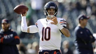 NFL: Mitchell Trubisky no está preocupado por la llegada de Nick Foles a los Bears