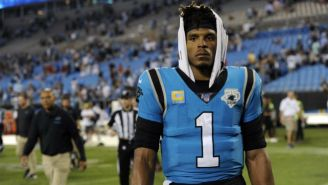 Cam Newton como quarterback de Panthers