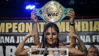 Barby Juárez sigue soñando con título mundial Supergallo