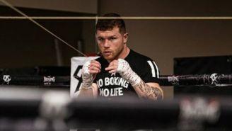 VIDEO: Canelo Álvarez le 'enseñó' a boxear a Stephen Curry