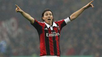 Riccardo Montolivo en festejo de gol