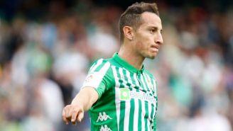 Andrés Guardado: El futbolista del Betis sufrió lesión en el juego ante Atlético de Madrid