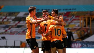 Raúl Jiménez: Encaminó goleada del Wolverhampton sobre Everton