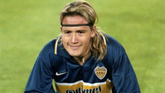 Matador jugando con Boca Juniors