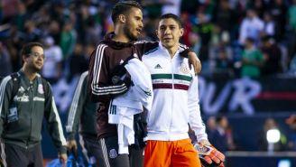Diego Reyes y Hugo González con Selección Mexicana