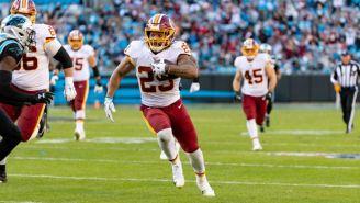 NFL: Washington rescindió el contrato del corredor Derrius Guice