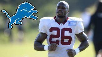 NFL: Detroit firmó a Adrian Peterson por un año