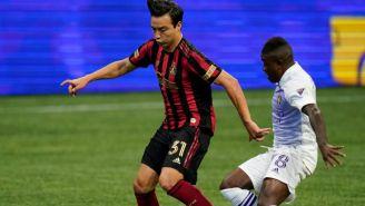 Cubo Torres en partido con Atlanta United