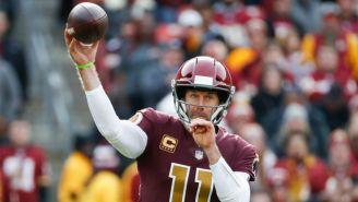 NFL: Alex Smith vuelve a estar activo para un partido desde 2018
