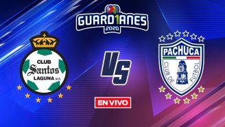 EN VIVO Y EN DIRECTO: Santos vs Pachuca Apertura 2020 J14