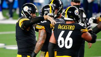 Pittsburgh festeja una anotación sobre Dallas