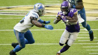 NFL: Minnesota venció a Detroit con destacada actuación de Dalvin Cook