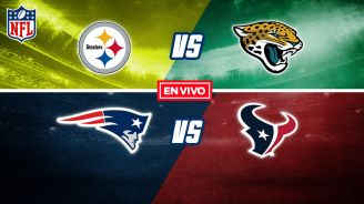 EN VIVO Y EN DIRECTO: Steelers vs Jaguars y Patriots vs Texans