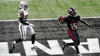 NFL: Atlanta vapuleó a un errático equipo de Las Vegas