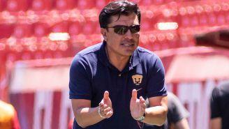 Raúl Alpízar, en un juego de Pumas Sub 17