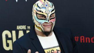 Rey Mysterio en presentación