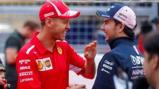 Checo Pérez sobre llegada de Vettel a Aston Martin: 'Se divertirá y serán un equipo fuerte'
