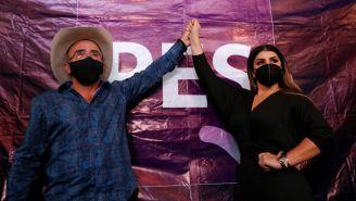 Vicente Fernández Jr.: Anunció su candidatura como diputado por el PES