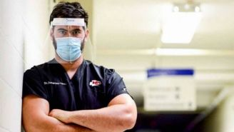 Duvernay-Tardif en el hospital