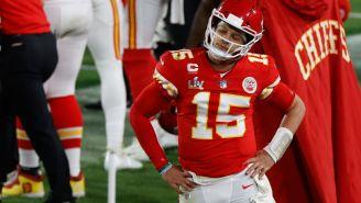 Patrick Mahomes se lamenta tras accionar de los Chiefs