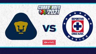 EN VIVO Y EN DIRECTO: Pumas vs Cruz Azul