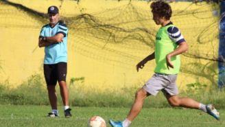 Liga de Expansion: Hijo de Diego Lugano debutó con Cancun FC