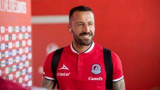 Mario Abrante previo a un partido