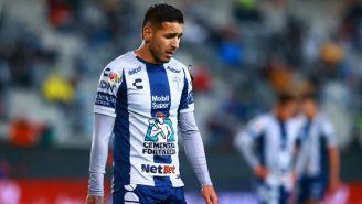 Ismael Sosa en un partido con los Tuzos del Pachuca