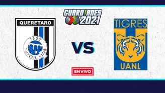 EN VIVO Y EN DIRECTO: Querétaro vs Tigres Guardianes 2021 J13