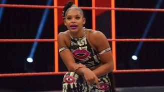 Bianca Belair en un evento de la WWE