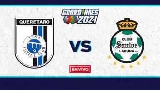 EN VIVO Y EN DIRECTO: Querétaro vs Santos