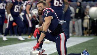 NFL: Patriots cortaron a Julian Edelman tras no superar los exámenes físicos