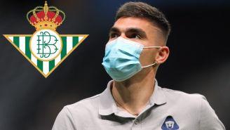 Pumas: Johan Vásquez sería pretendido por el Betis
