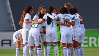 Tri Femenil en partido ante España