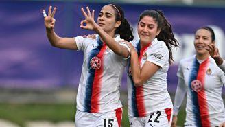 Jaramillo tras anotar el gol de las Chivas