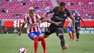 Uriel Antuna en el Chivas vs Xolos