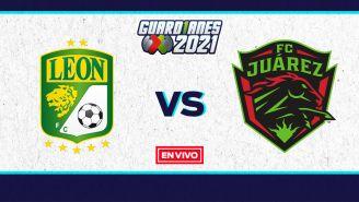 EN VIVO Y EN DIRECTO: León vs Juárez Guardianes 2021 J15