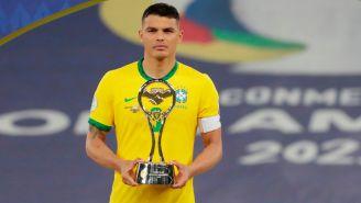 Thiago Silva tras perder la Final de la Copa América