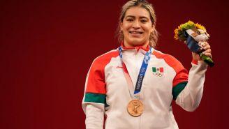 Aremi Fuentes tras Tokio 2020: 'Esta medalla me sabe a oro'