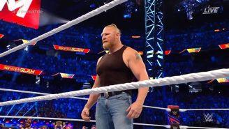 Brock Lesnar regresó a la WWE