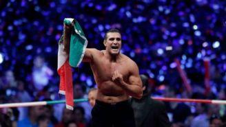 Alberto El Patrón en el ring