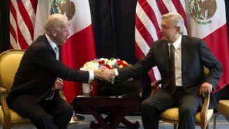 Biden y AMLO en evento