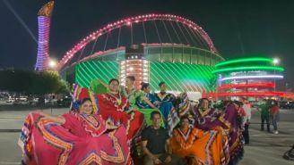 Ballet Folklórico con trajes típicos de México en Qatar