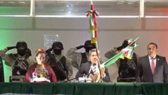 Alcalde de Cuautitlán rompió cordón de campana previo al Grito