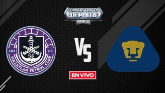 EN VIVO Y EN DIRECTO: Mazatlán vs Pumas Liga MX  Apertura 2021 J9