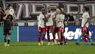 New York Red Bulls festeja una anotación