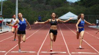 Iza Flores en su último triunfo en universiadas nacionales