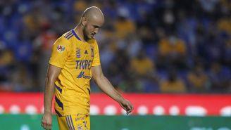 Carlos González se lamenta tras una falla