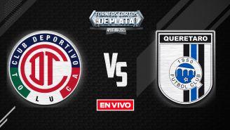 Toluca vs Querétaro Liga MX EN VIVO: Apertura 2021 Jornada 12