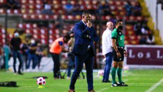 Leonardo Ramos en el partido ante Xolos